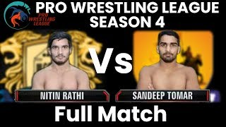 PWL 4 Day 10: Sandeep Tomar vs Nitin Rathi | Punjab Royals vs MP Yodha | Full Match