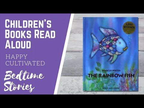 The Rainbow Fish Book Read Aloud   Children's Book Read Aloud Bedtime Story Fish Book