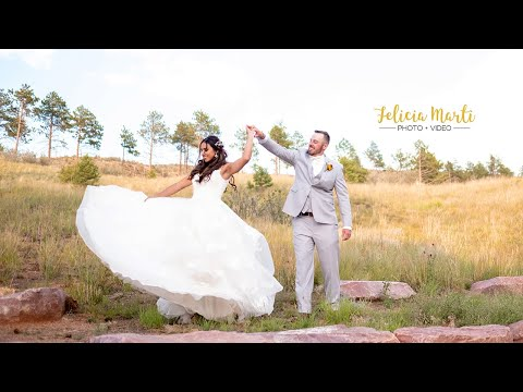 Daddy Daughter First Look | Colorado Mountain Wedding