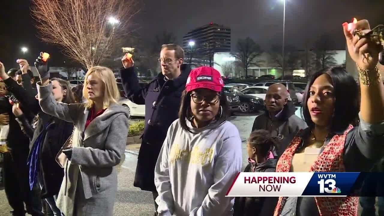 NAACP and Community  vigil honors life of E.J. Bradford
