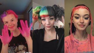 TikTok Hair Color Dye Fails \u0026 Wins ( Part 2 )