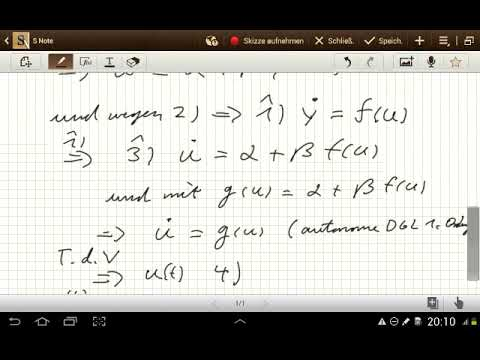 Beweis zu: DGL mit Substitution lösen