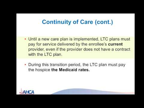 SMMC Long-term Care Provider Webinar: Hospice Providers