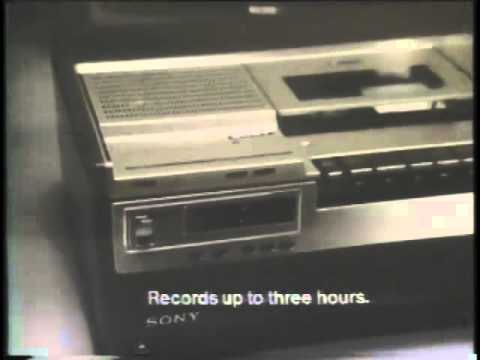 Liz Sheridan 1978 Sony Betamax Player Commercial