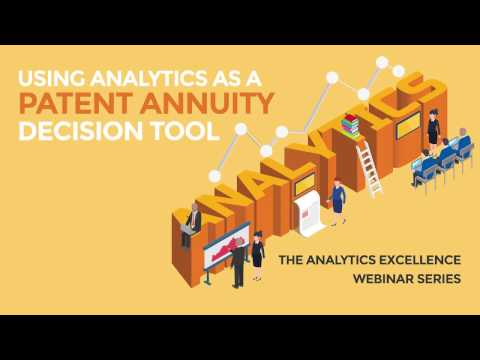 Using Analytics as a Patent Annuity Decision Tool