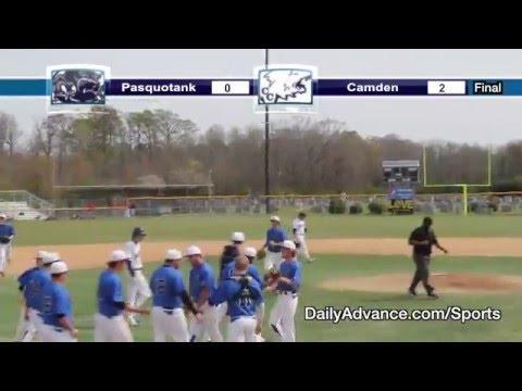 The Daily Advance sports highlights | Albemarle Easter Baseball Tournament — Pasquotank vs. Camden