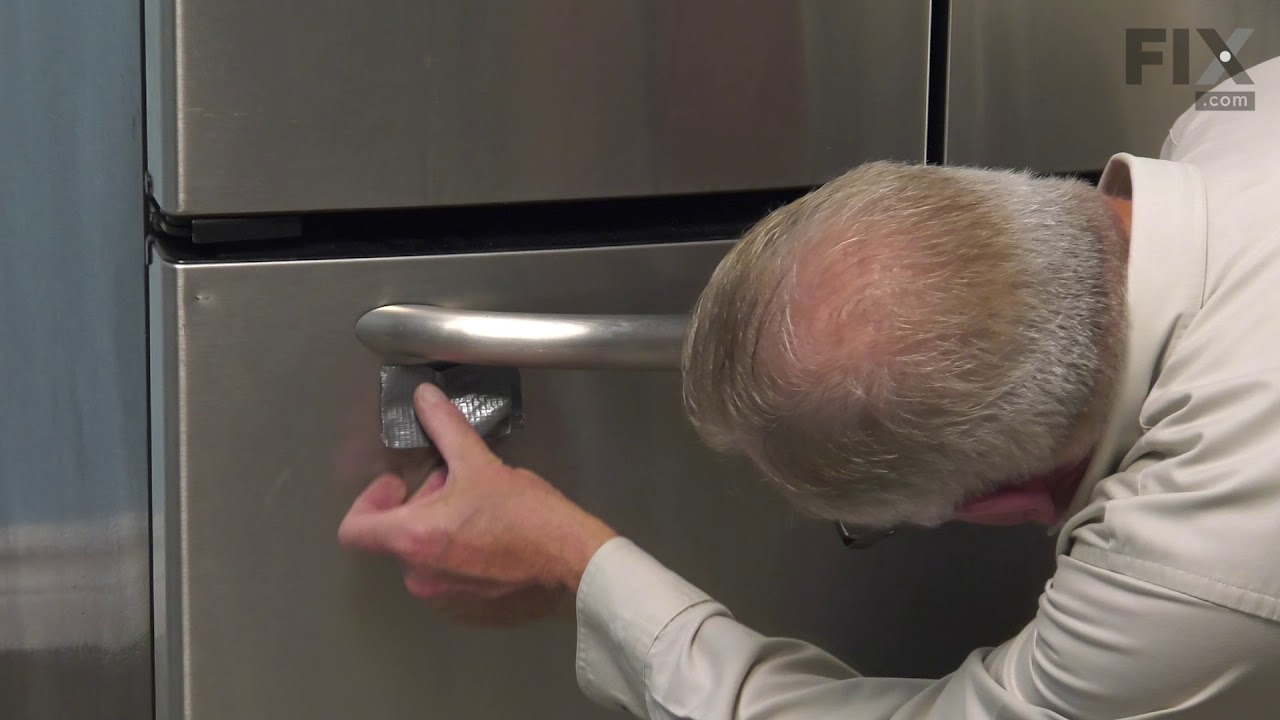 Maytag Refrigerator Repair How To Replace The Door