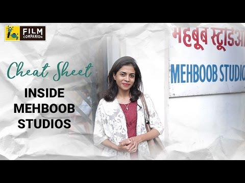Inside Mehboob Studios | Cheat Sheet | Sneha Menon Desai