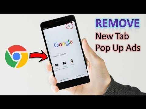 How to Remove Unwanted Tab Automatically Open in Google Chrome from Android  Phone