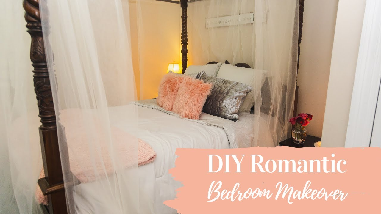 Romantic Bedroom Decorating Ideas On A Budget Youtube