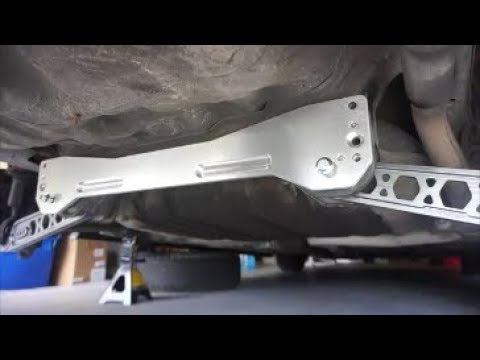 Making The Civic Handle Better! | Ktuned Control Arms & Ebay Subframe Brace & Tie Bar Install