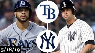Tampa Bay Rays vs New York Yankees - Full Game Highlights | May 18, 2019 | 2019 MLB Season