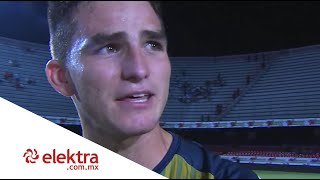 Sebastián Jurado habla tras su primera victoria de Liga MX | Presentado por Elektra