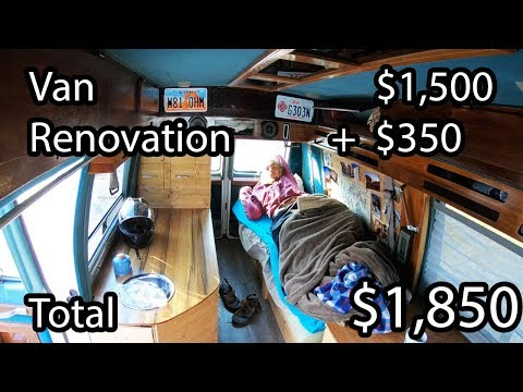 how-to-build-a-home-made-camper-van---start-to-finish-diy