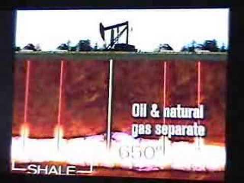 Oil shale in Rifle Colorado