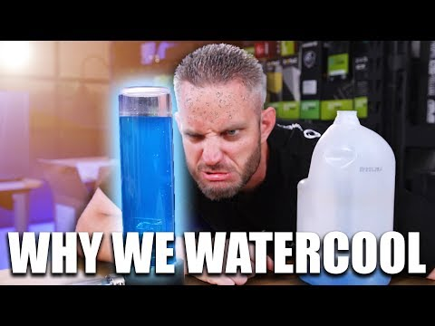 THIS is why you should Watercool your PC!