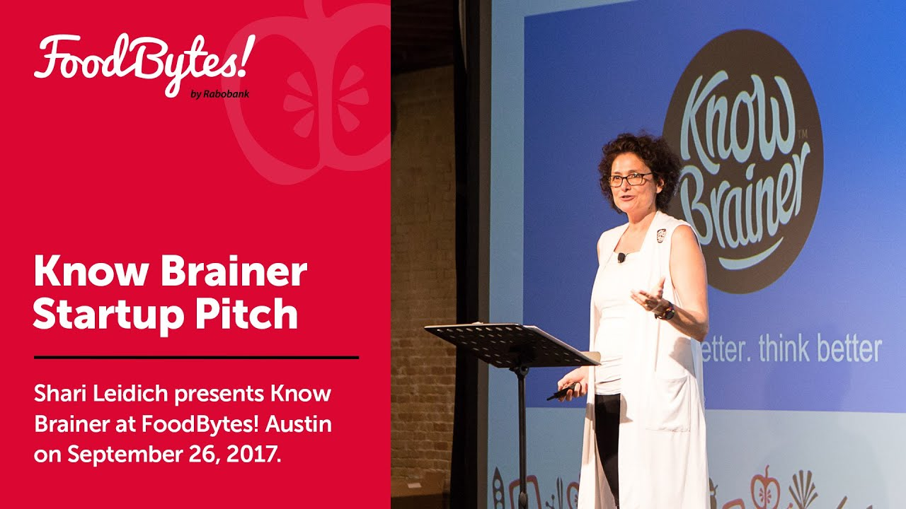 Download Know Brainer - Full Pitch - FoodBytes! Austin 2017