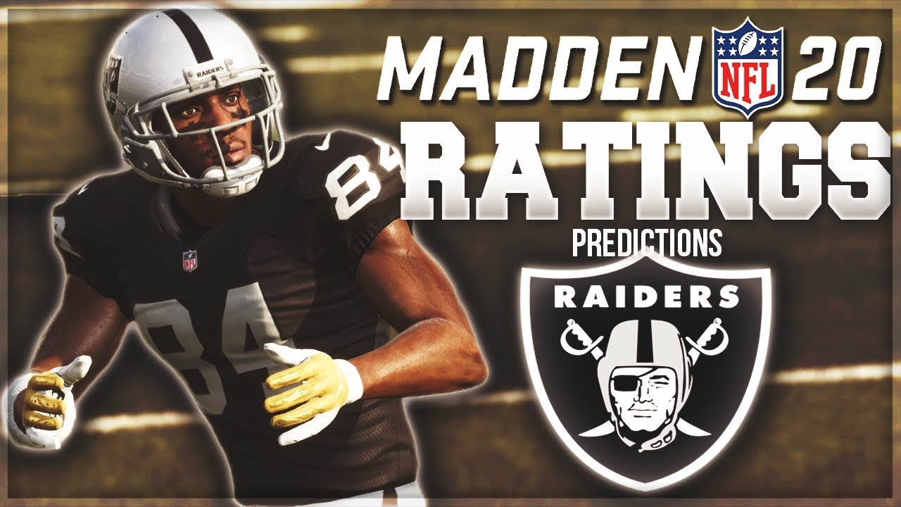 Madden 20: Revealing the 2019 Raiders' ratings