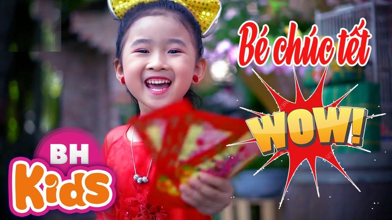 Bé Chúc Tết - Candy Ngọc Hà ♫ Nhạc Tết Thiếu Nhi 2019