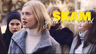 skam | glitter & gold