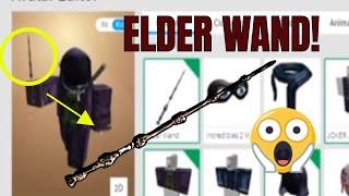 I GOT THE ELDER WAND IN ROBLOX!