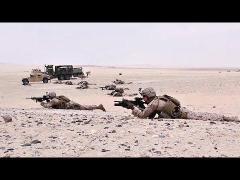 U.S. Marines and Sailors Train With Qatar Emiri Land Forces