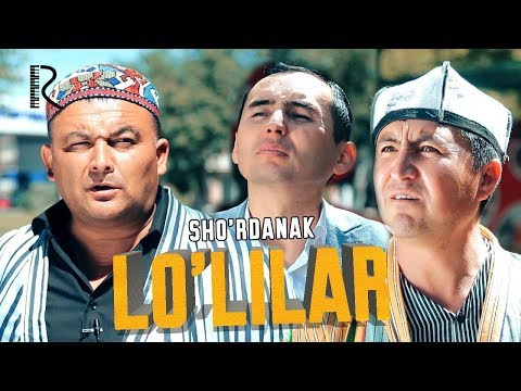 Sho'rdanak - Lo'lilar   Шурданак - Лулилар (hajviy ko'rsatuv)