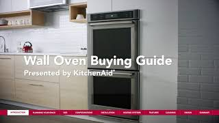 KitchenAid® Buying Guide for Built-In Wall Ovens