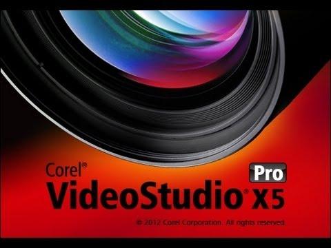 สอนใช้Corel VideoStudio Pro  X5 (ขั้นเบื่องตัน)