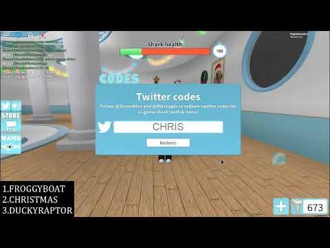 roblox sharkbite twitter codes