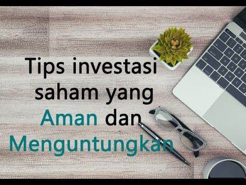 tips investasi aman dan menguntungkan