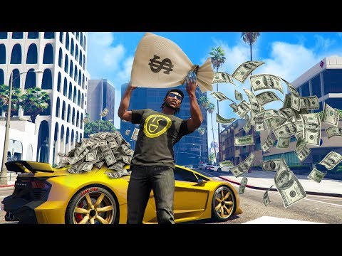 I JOINED A MODDED MONEY LOBBY! *INSANE!* | GTA 5 THUG LIFE #205 thumbnail