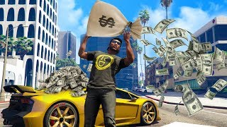 I JOINED A MODDED MONEY LOBBY! *INSANE!* | GTA 5 THUG LIFE #205