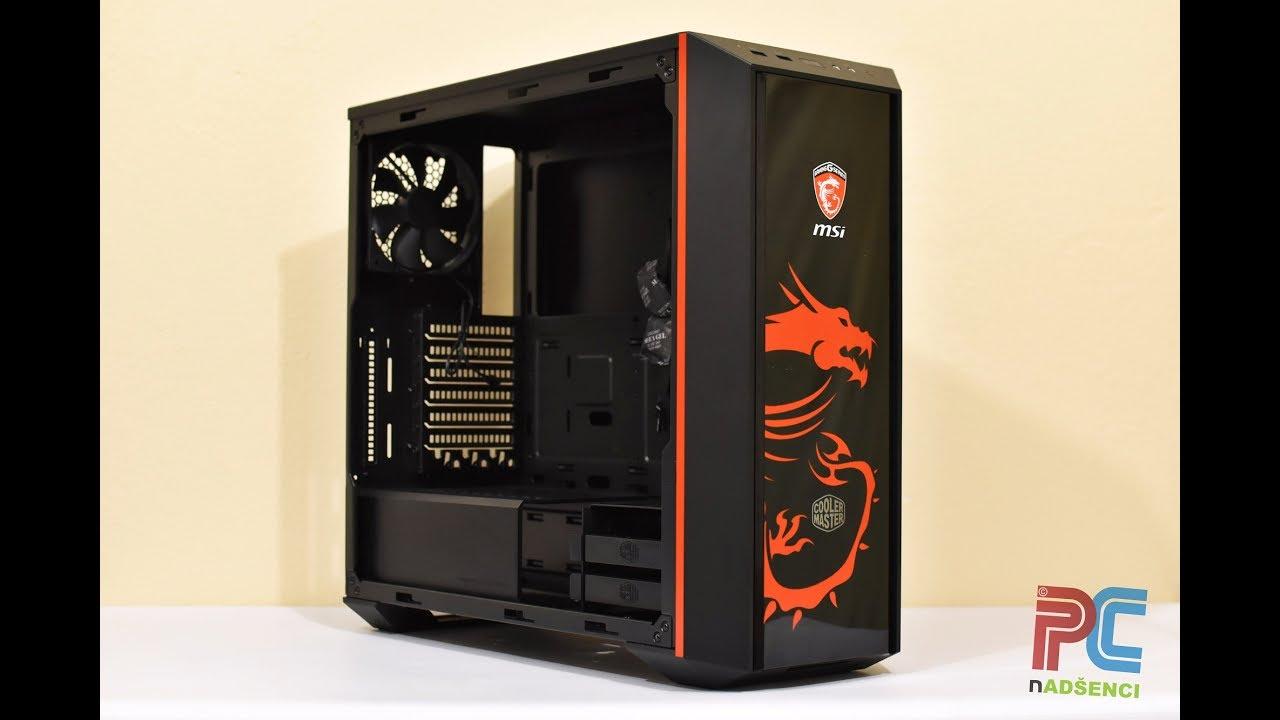 Cooler Master Masterbox 5 Msi Dragon Edition Gaming Case