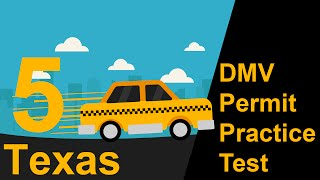 Texas DMV Permit Practice Test 5 2018
