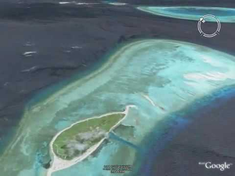 Paracel Islands (2007) from Google Earth