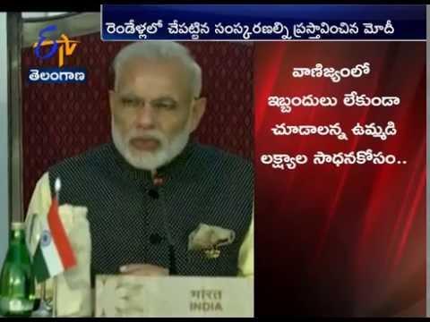 Modi Hard Sells India's Economic Growth at BRICS Summit