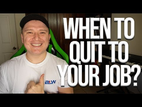 When To Quit Your Job While Trading Binary Options/Forex?