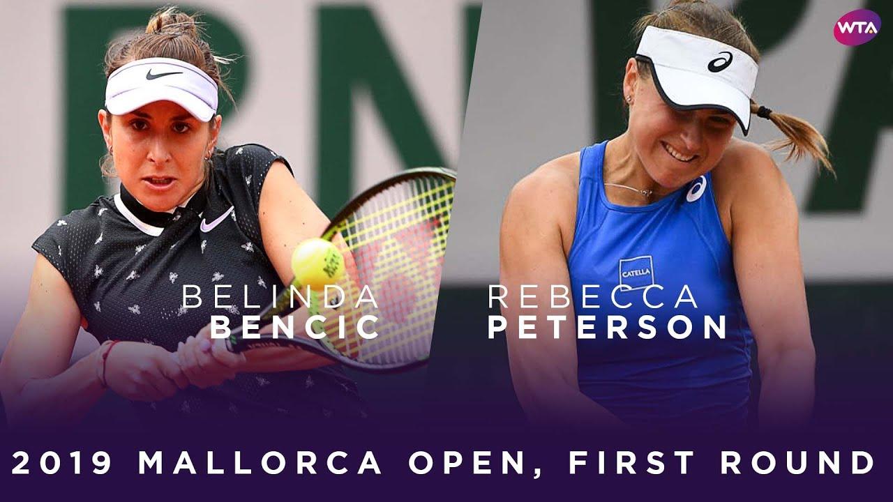 Belinda Bencic vs. Rebecca Peterson | 2019 Mallorca Open Final | WTA Highlights