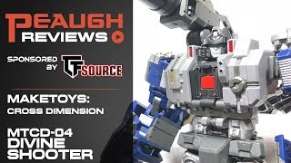 Video Review: Maketoys MTCD04 DIVINE SHOOTER