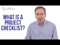 Project Management in Under 5: What is a Project Checklist?