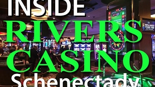 Inside RIVERS CASINO & RESORT Schenectady, NY - GRAND OPENING with Governor Andrew Cuomo