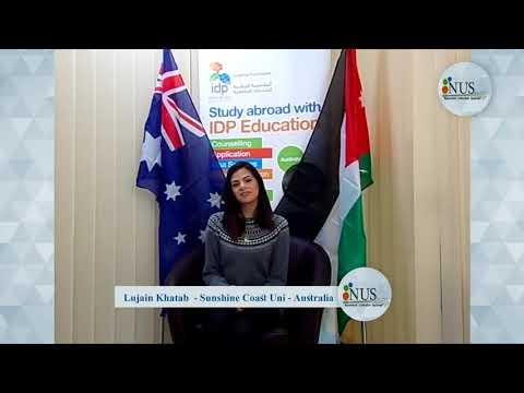 قصة-نجاح.لجين-خطاب-(الأردن)حلمها-تدرس-ارشاد-ادرس-البرنامج-في-صن-شاين-كوست-الاسترالية-من-خلال-الوطنية
