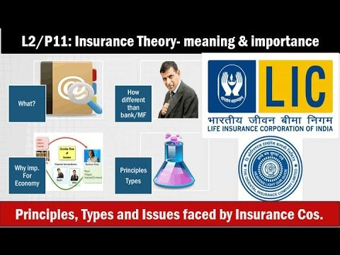 L2/P11: Insurance- History and nationalization in India