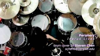 ICARUS LIVES drum cover (Periphery / Steven Chen)