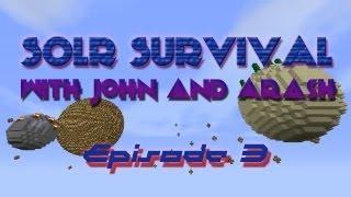 Minecraft: Solar Survival Ep.3 - Hardcore but Lazy [HD]