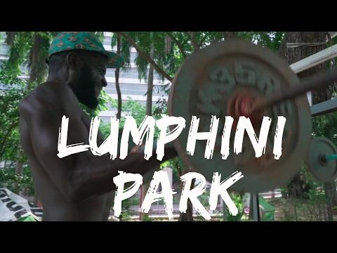 Lumphini Park Bangkok Workout