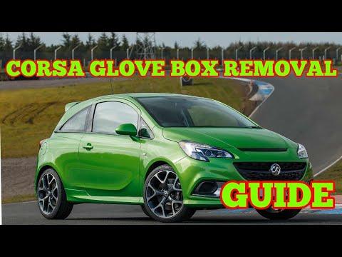 CORSA E 2014-2018 GLOVE BOX REMOVAL FUSE BOXPOLLEN FILTER VAUXHALL