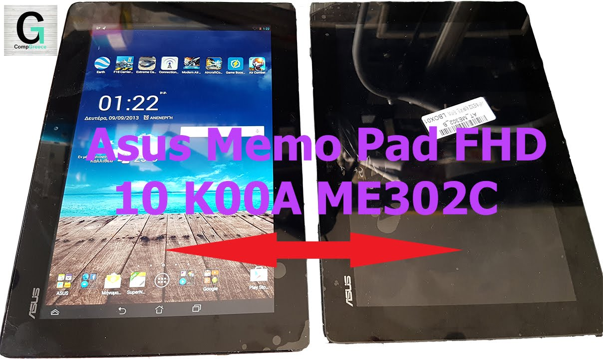Asus Memo Pad Fhd 10 K00a Me302c Display And Digitizer