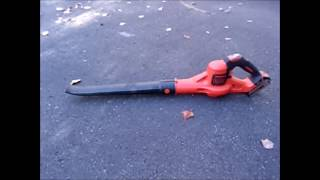 Black and Decker 20v Battery powered leaf Blower Review